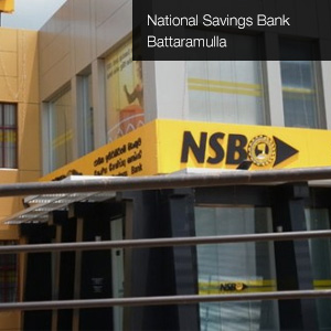 National Savings Bank – Battaramulla