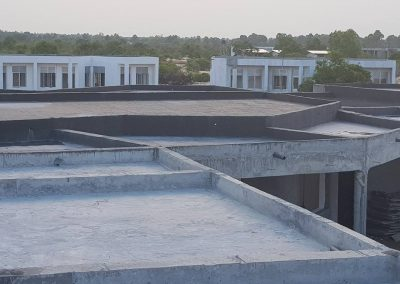 Waterproofing of Delma MJF vocational training center in Kalkuda, Passikuda, Batticoloa